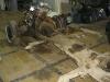 Mercedes 300 Adenauer, Rahmen und Achsen Malerei Renovierung